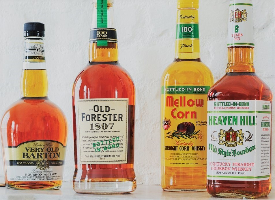 Bottled in Bond Bottles