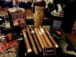 Cigars and Bourbon