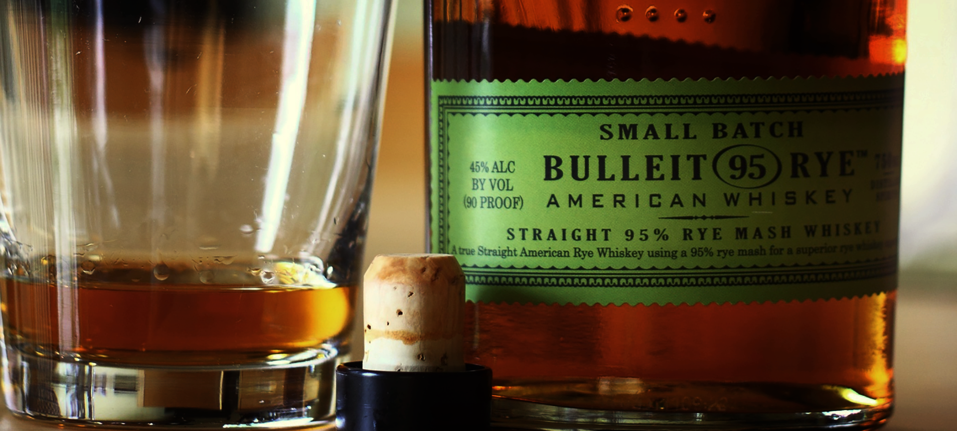 Bulleit small-batch whiskey